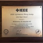 بهترین مقاله سال ۲۰۱۶  IEEE Information Theory Society