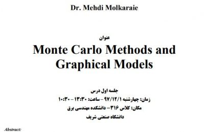 Short Course On Monte Carlo Methods and Graphical Models
